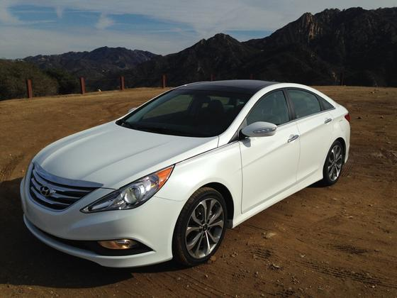 hyundai sonata 2014. 2014 hyundai sonata limited 20t real world review featured image large thumb7