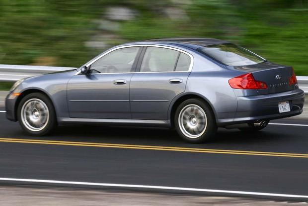 2003 2006 Infiniti G35 Vs 2004 2008 Acura Tl Which Is Better