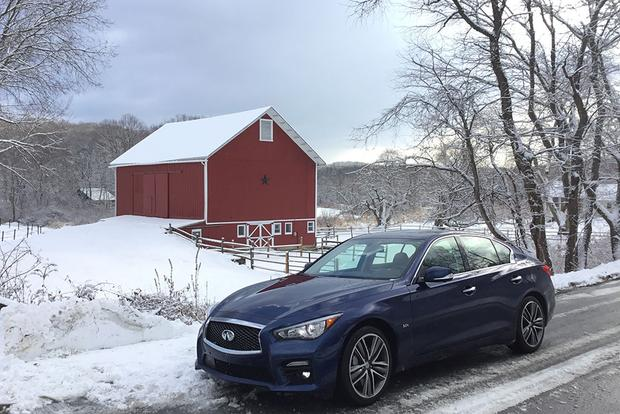 CPO 2017 Infiniti Q50: Snow Time