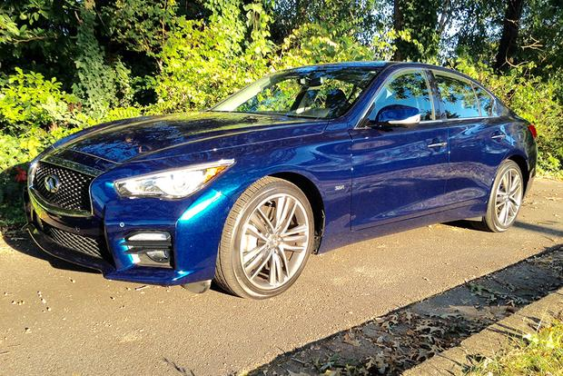 CPO 2017 Infiniti Q50: Turning Heads