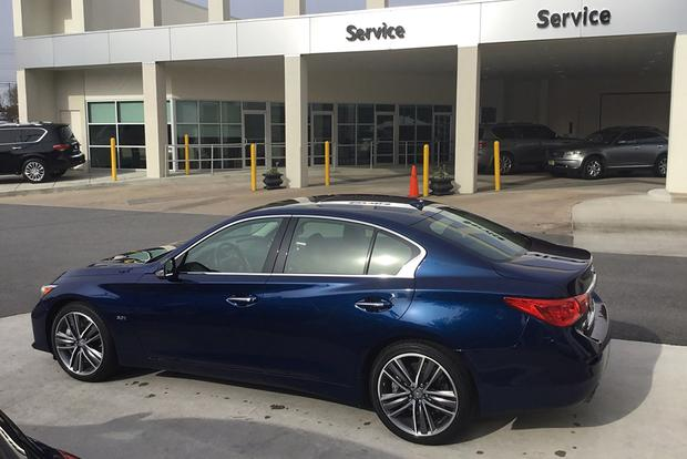 CPO 2017 Infiniti Q50: 10,000-Mile Service featured image large thumb0