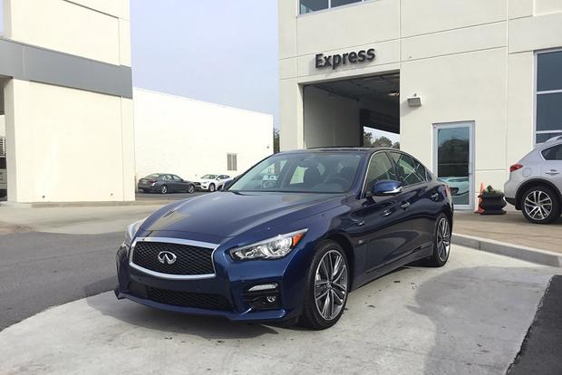 CPO 2017 Infiniti Q50: 10,000-Mile Service featured image large thumb1