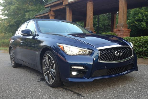 2014 infiniti q50 hybrid real world review autotrader. Black Bedroom Furniture Sets. Home Design Ideas