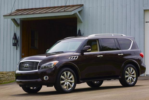 2013 Infiniti QX56: New Car Review