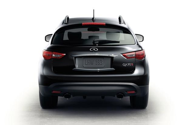 2015 infiniti qx70 new car review autotrader. Black Bedroom Furniture Sets. Home Design Ideas
