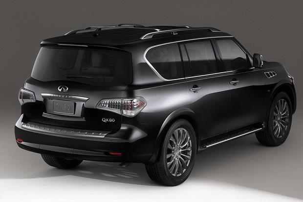 2014 infiniti qx80 used car review autotrader. Black Bedroom Furniture Sets. Home Design Ideas