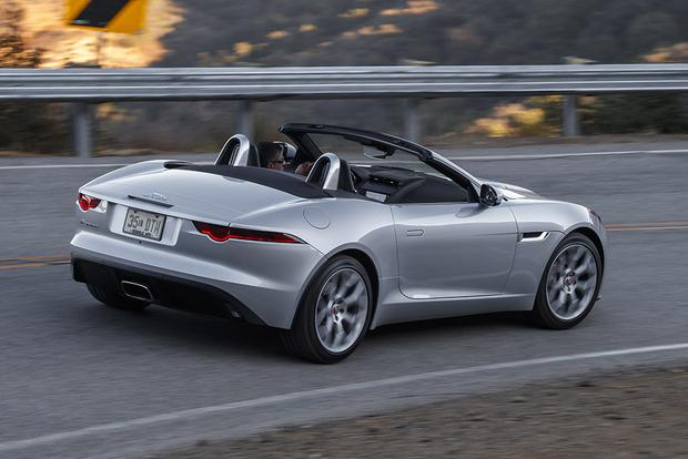 2018 Jaguar F-Type: New Car Review featured image large thumb4
