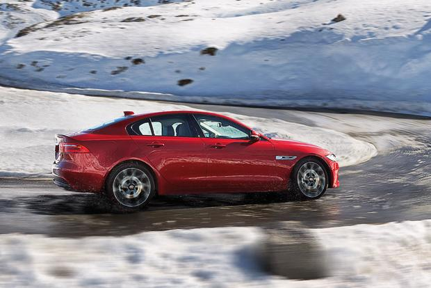 2017 Jaguar XE: New Car Review featured image large thumb3