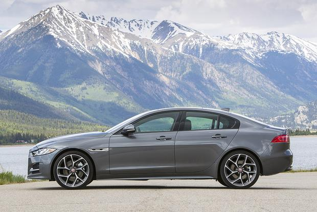 2018 Jaguar XE: New Car Review featured image large thumb2