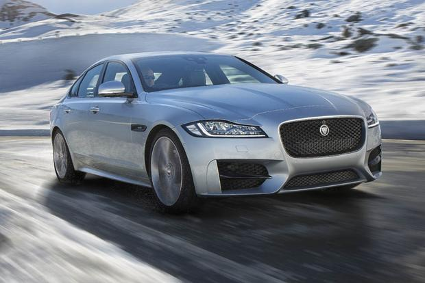 2017 Jaguar XF: New Car Review featured image large thumb1