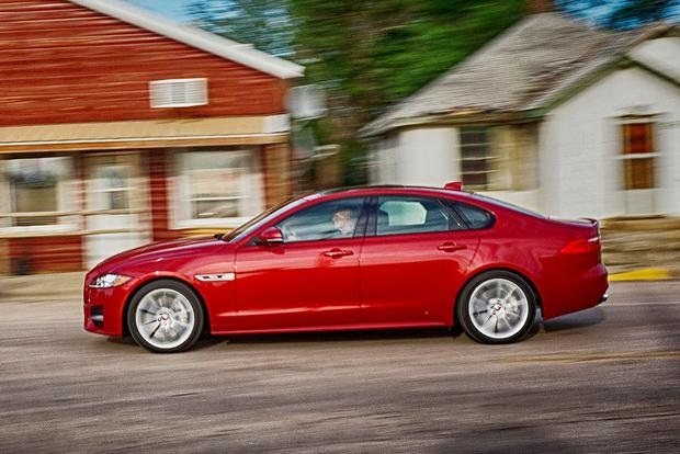 2018 Jaguar XF: New Car Review featured image large thumb3