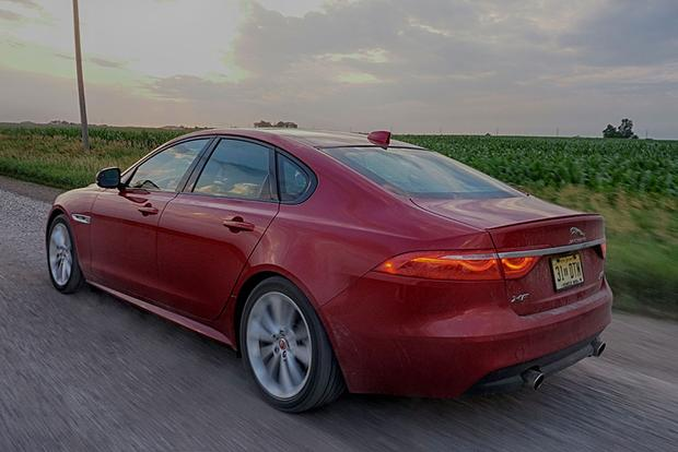 2018 Jaguar XF: New Car Review featured image large thumb5