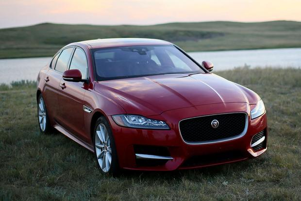 2018 Jaguar XF: New Car Review featured image large thumb1