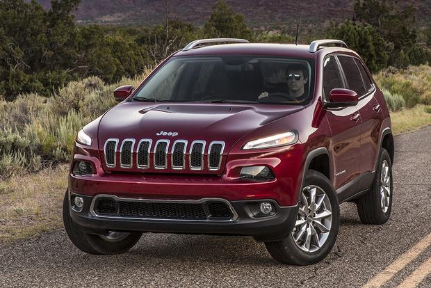 2015 jeep cherokee new car review autotrader. Black Bedroom Furniture Sets. Home Design Ideas