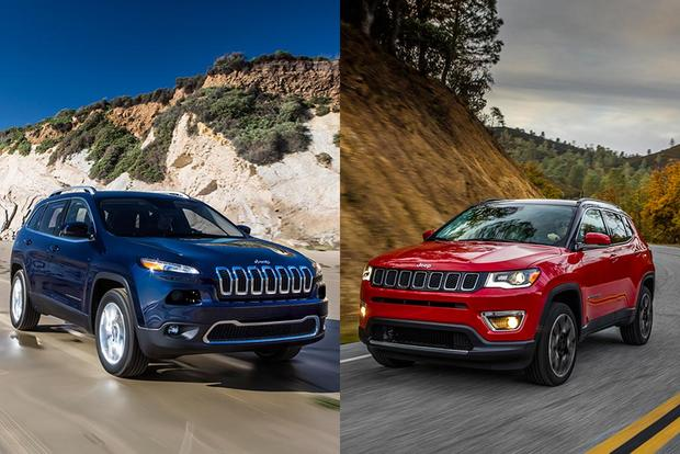 Jeep Cherokee Vs Grand Cherokee >> 2018 Jeep Cherokee Vs 2018 Jeep Compass What S The Difference