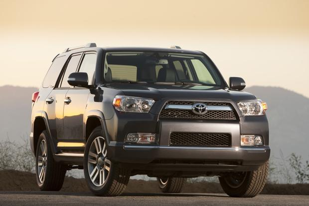 2017 Jeep Grand Cherokee Vs 2010 Toyota 4runner Which Is