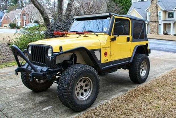 Found On Autotrader: 2000 Jeep Wrangler S Featured Image Large Thumb0