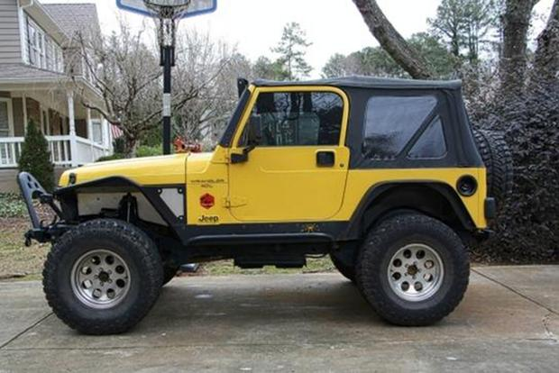 Found on Autotrader: 2000 Jeep Wrangler S featured image large thumb1