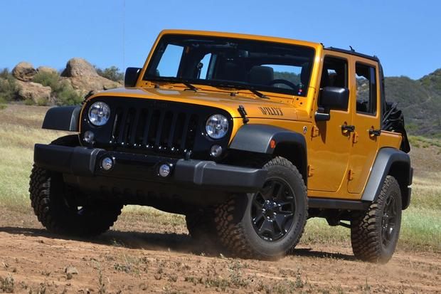 2014 Jeep Wrangler Unlimited Willys Wheeler Edition: Real World Review featured image large thumb0