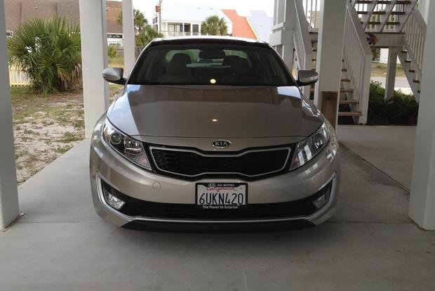 2012 Kia Optima Hybrid: Infinity Sound System featured image large thumb5