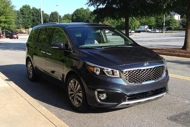 2015 Kia Sedona: On the Road