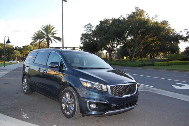 2015 Kia Sedona: Wear and Tear