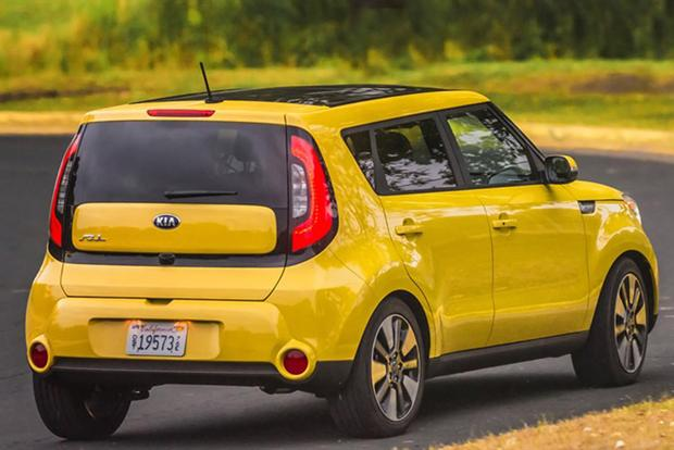 2016 kia soul new car review autotrader. Black Bedroom Furniture Sets. Home Design Ideas