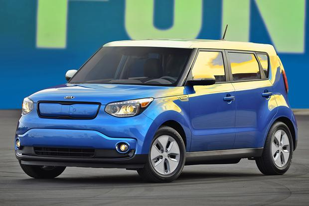 2017 kia soul ev new car review autotrader. Black Bedroom Furniture Sets. Home Design Ideas