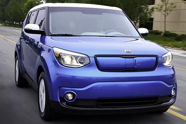 2018 kia soul ev new car review autotrader. Black Bedroom Furniture Sets. Home Design Ideas