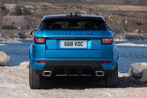 2018 Land Rover Range Rover Evoque: New Car Review featured image large thumb7