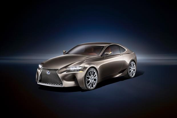 Lexus LF-CC Concept: Paris Auto Show Preview featured image large thumb0