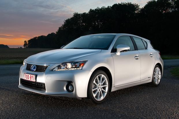 2012 Lexus CT 200h: New Car Review