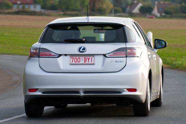 2012 Lexus CT 200h: OEM Image Gallery featured image large thumb9