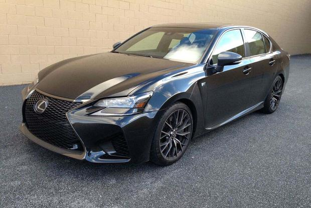 2013 Lexus GS 350 F Sport side view ...