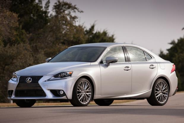 2014 Lexus IS vs. 2013 Lexus IS: New vs. Old