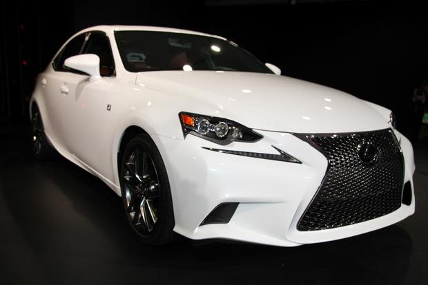 2014 Lexus IS: Detroit Auto Show