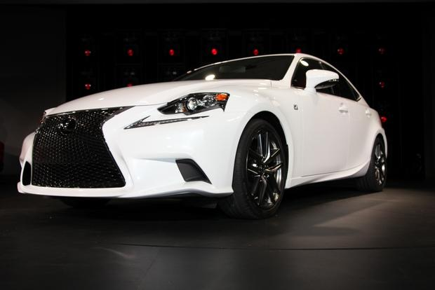 2014 Lexus IS: Detroit Auto Show featured image large thumb2