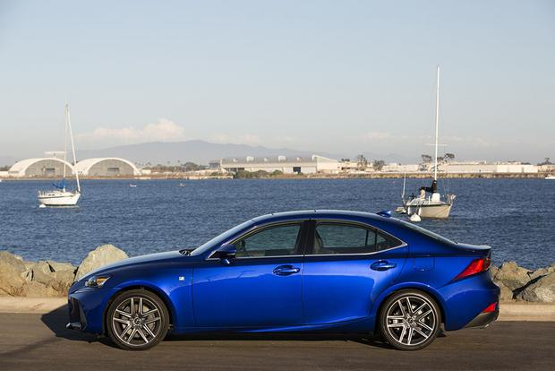 2017 Lexus IS: New Car Review featured image large thumb2