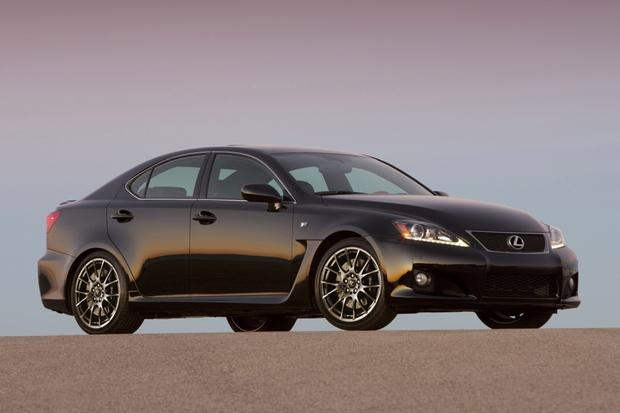 2014 Lexus IS F: New Car Review - Autotrader