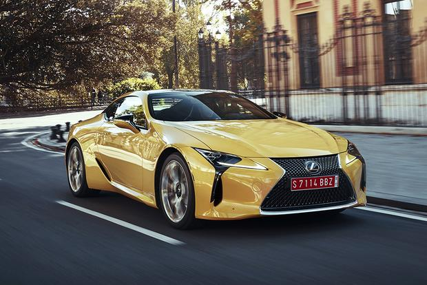 2018 Lexus Lc 500 And Lc 500h First Drive Review Autotrader