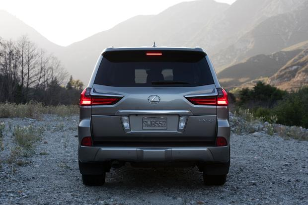 2016 Lexus LX: New Car Review featured image large thumb4