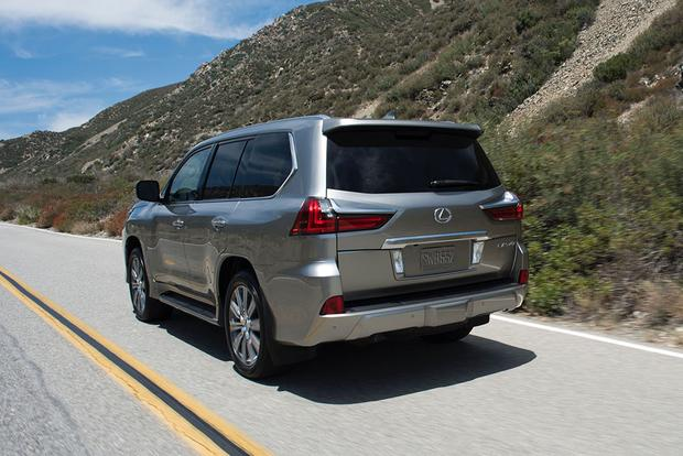 2016 Lexus LX: New Car Review featured image large thumb6