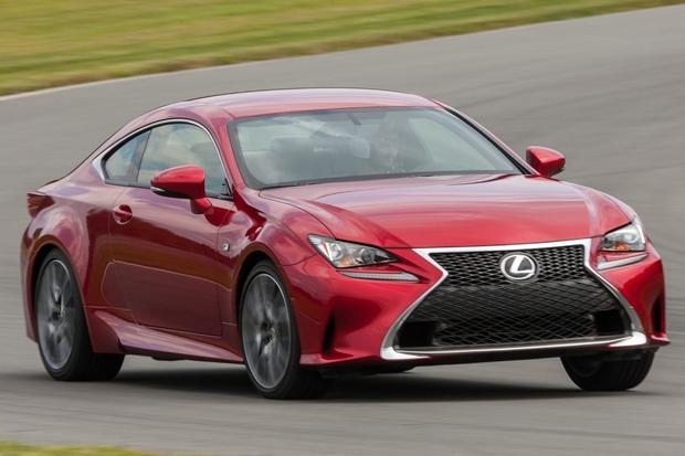 2015 Lexus RC 350: New Car Review featured image large thumb0