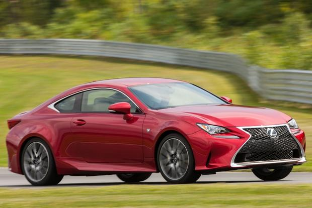 2015 Lexus RC 350: New Car Review featured image large thumb1