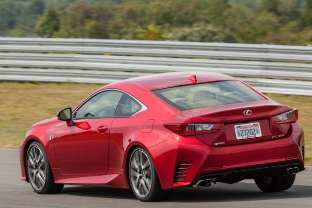 2015 Lexus RC 350: New Car Review featured image large thumb2