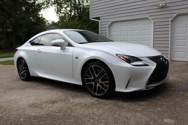 2015 Lexus RC 350: Real World Review featured image large thumb6