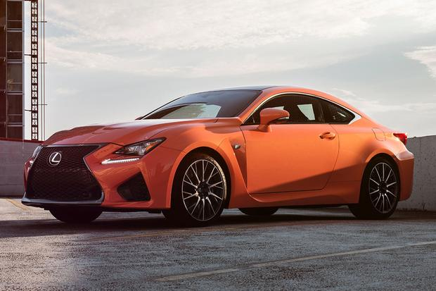 2015 Lexus RC F: New Car Review featured image large thumb1