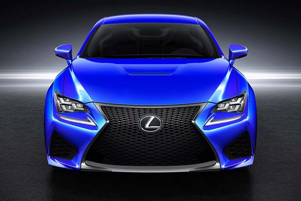 2016 Lexus RC F: New Car Review