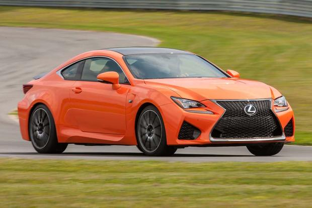 2016 Lexus RC F: New Car Review featured image large thumb1