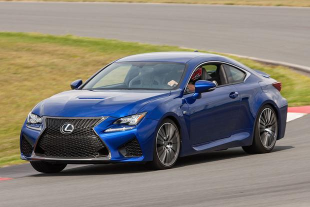 2016 Lexus RC F: New Car Review featured image large thumb2